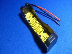 18650電池ホルダー 1本 3.7V用(保護回路付)1S1P リチウムイオン電池ホルダー、電池ケース、バッテリーボックス,電池ボックス,電池box