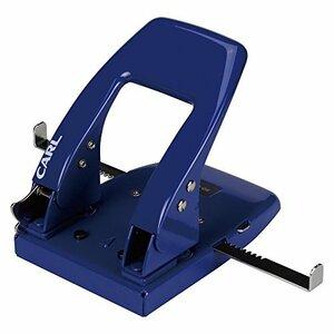 ブルー 18cm×15.9cm×13.2cm カール事務器 穴あけパンチ 2穴 50枚 ブルー SD-88-B