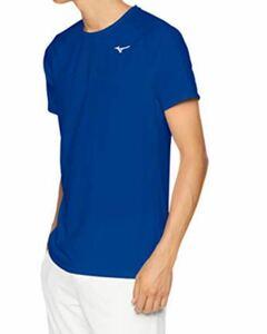 Mizuno ランニングウェア ランニングTシャツ 速乾 半袖 J2MA8520 メンズ ブルー XS