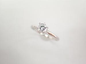 美品 タサキ 田崎真珠 Pt900 ダイヤ0.20ct(F-VS2-FAIR) デザイン リング 指輪