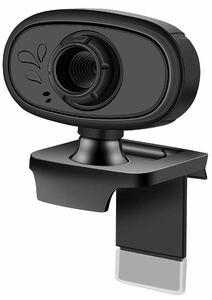 ウェブカメラ コンピュータ 720P HD PCカメラ マイク内蔵 高画質 高精細 広視野角 ウェブ会議 小型 遠隔教育 リモート