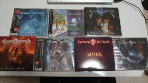【CD】Sonata Arctica ソナタ・アークティカ CDセット メロスピ 北欧メタル
