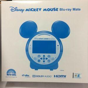 ディズニー英語システム(DWE) Mickey Mouse Blu-ray Mate(ミッキーマウスブルーレイメイト)ポータブルBDプレーヤー 2020年購入 新品同様
