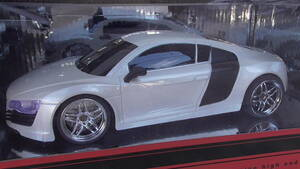 アウディR8 RCカー 1/24スケール ラジコンカー スーパーカ― ホワイト/白色 フェラーリ/ガヤルド在庫あり