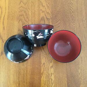 おわん お椀 汁椀 和食器 直径10.5cm 3個 セット