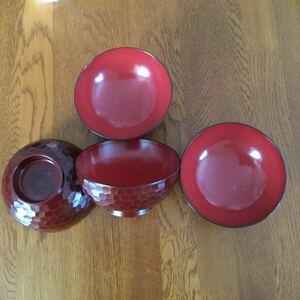 お椀 おわん 和食器 汁椀 直径11.7cm 4個  セット