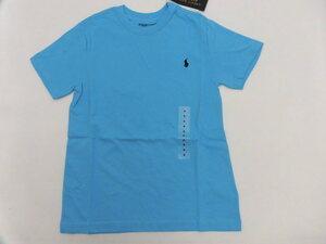 *[ new goods ] Ralph Lauren short sleeves T-shirt light blue 120*
