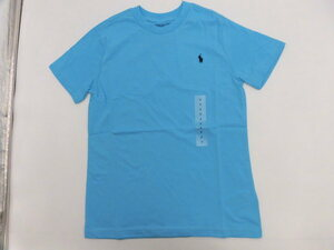 *[ new goods ] Ralph Lauren short sleeves T-shirt light blue 130*