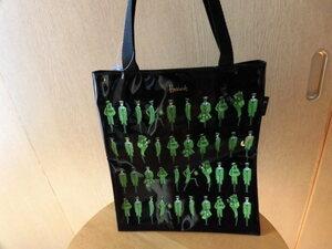 **[ new goods ] Harrods Harrods tote bag eko-bag A4 M size green man **