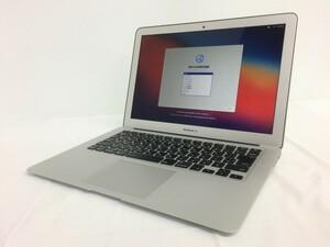 送料無料 Apple MacBook Air 13-inch Early 2015 A1466 /Core i5 5250U CPU @ 1.60GHz /SSD128GB/4GB/11インチ/mac OS BigSur/中古アップル