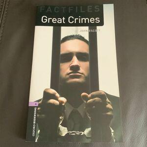 洋書 Great Crime