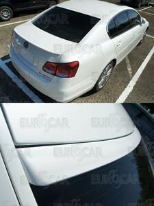 レクサス GS 3代目 S19型 リア ルーフ スポイラー F型 純正色 PVC 塗装 2005-2012 実際装着写真あり