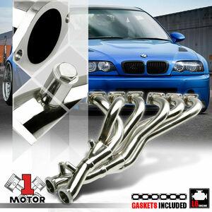 15PS上昇! BMW E46 325 330 E39 5シリーズ E85 Z4 ステンレス エキマニ マフラーフロントパイプ 車高調 バンパー 触媒 ホイール