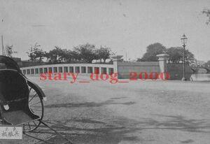 複製復刻 絵葉書/古写真 東京 呉服橋と常盤橋 火の見櫓 明治期 WA_057