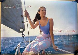 1989 year Hiroko * Grace Hiroko Grace poster 6~8 month Sumitomo Bank