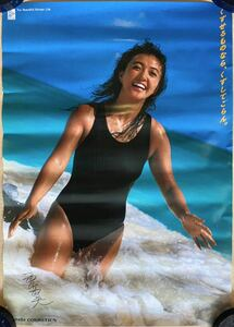 Kanebo campaign girl west mountain . beautiful poster