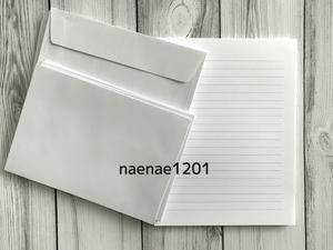 レターセット 便箋 封筒 無地 シンプル 白 ホワイト 未使用品 ラッピング プレゼント