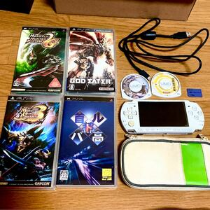 psp-3000 本体 ソフト セット PSP本体 SONY ソフト ソニー
