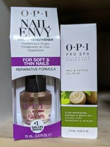 OPI ネイル エンビー ソフト & シン & プロスパ キューティクル オイル トゥゴー Nail Envy Soft Thin