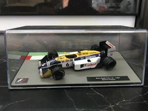 ウィリアムズFW11B ネルソンピケ 1987年 1/43 - ディアゴスティーニ Deagostini F1マシンコレクション デアゴスティーニ
