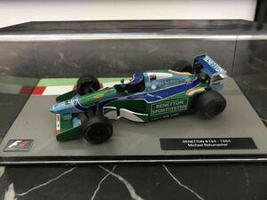 ベネトンB194 ミハエル シューマッハ 1994年 1/43 - Deagostini F1マシンコレクション デアゴスティーニ ルノー