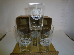 未使用保管品*昭和レトロ*激レア非売品 KIRIN キリンビール、レモン 、オレンジエードグラス 6個セット 当時物 箱付き