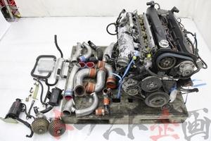 5505301 RB26DETT エンジンAssy HKS GT-SS 他セット スカイライン GT-R BNR32 前期 トラスト企画 送料無料
