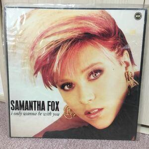 サマンサフォックス SAMANSA FOX 12インチレコード盤