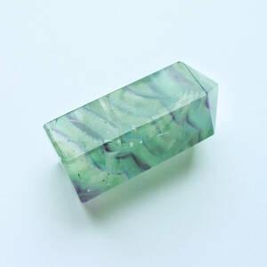 エンジェルフェザー マーブルストライプ 六角柱 天使の羽 石花蛍石 フローライト 鉱物 天然石 Fluorite
