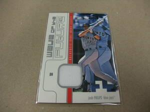 2003 FLEER ジャージカード WOF-JP JOSH PHELPS ジョシュ・フェルプス 493/500 JERSEY MLB