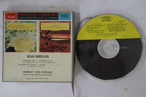 Reel Tape Herbert Von Karajan Symphony No. 4 DGK8974 DEUTSCHE GRAMMOPHON US /00390の商品画像