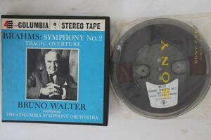 Reel Tape Brahms, Bruno Walter Symphony No. 2 In D Major MQ373 COLUMBIA US /00390の商品画像