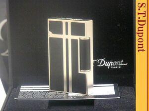 【 レア 新品未使用品 マットブラック 】S.T.Dupont パラディウム ライン2 ガスライター◆エス・テー・デュポン 葉巻!たばこ喫煙具グッズ