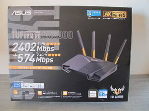 美品 ASUS ゲーミング無線LANルーター TUF-AX3000
