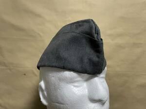ドイツ軍 ドイツ空軍 代用品 オーバーシースキャップ 略帽 シッフェン 改造ベース品 ルフトヴァッフェ 中古品