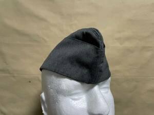 ドイツ軍 ドイツ空軍 代用品 オーバーシースキャップ 略帽 シッフェン 改造ベース品 ルフトヴァッフェ 中古品 B