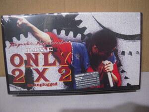 VHS ビデオテープ 新品未開封: 長渕剛 Nagabuchi Tsuyoshi「LIVE ONLY 2×2 an unplugged」