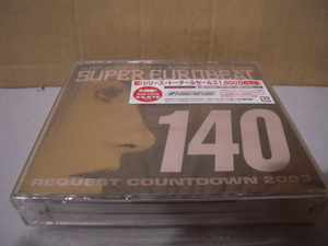 新品未開封: V.A.「スーパーユーロビート VOL.140 SUPER EUROBEAT VOL.140」2CD+DVD