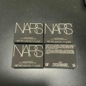 ナーズ NARS フェイスパウダー デュオアイシャドー 4点