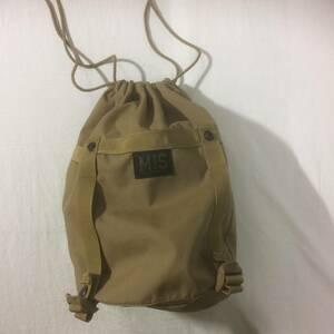 MIS COMPRESSION bag 巾着 coyote エムアイエス コンプレッション スタッフサック コヨーテ 男女 ポーチ 手提げ クラッチ バッグ