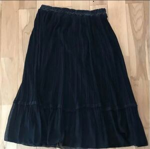 ロングスカート フォーマル 黒