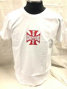 WEST COAST CHOPPERS ウエストコーストチョッパーズ 半袖 Tシャツ ホワイト×レッド