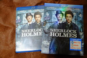 米盤 Blu-ray 日本語字幕なし 国内再生可 シャーロック・ホームズ ロバート・ダウニー・ジュニア、ジュード・ロウ