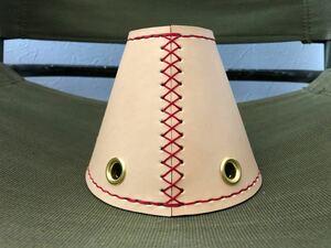 ラージサイズ オーダー 高級ベルギーヌメ タープ 連結 手縫い キャンプ スノーピーク コールマン