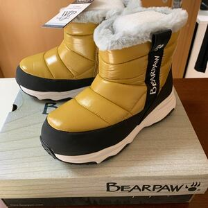 BEARPAW スノーブーツ 子供用スノーブーツ キッズスノーブーツ ボア サイズ22センチ US3