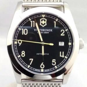 VICTORINOX 241587 自動巻き メンズ腕時計 ヴィクトリノックス 文字盤ブラック U 店舗受取可