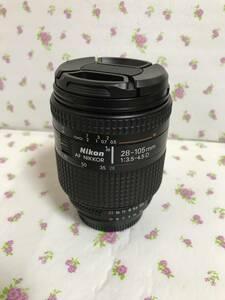 NIKON AF NIKKOR 28-105mm f3・5-4・5 D マクロ  AIーS  良品