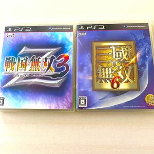 PS3ソフト 戦国無双3Z/真三国無双6 2枚セット