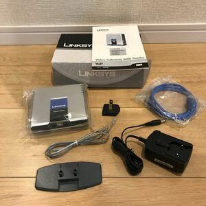 [稀少品] LINKSYS Cisco System VoIP ルータ Voice Gateway SPA3102