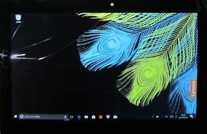 1537 タッチスクリーン割れ ジャンク Lenovo ideapad Miix320 10.1型ワイド 液晶画面 1920x1200 タッチパネル / リヤカバー